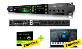 Avid Pro Tools | Carbon + ZDARMA:  Pro Tools | Ultimate Perpetual a Antares Auto-Tune Hybrid