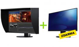 EIZO CG319X ColorEdge Premium + ZDARMA: EV2450 FlexScan (24″)