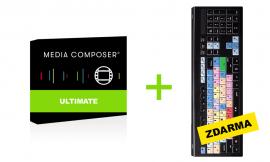 Media Composer Subscription Ultimate (2 roky) + ZDARMA: Klávesnice pro Avid