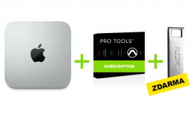 Apple Mac Mini (M1) + Pro Tools Subscription (1rok) + ZDARMA: iLok 3